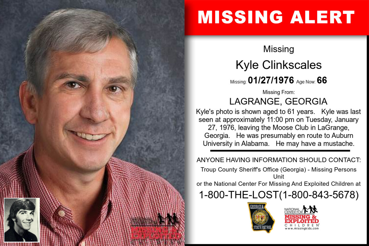 KYLE_CLINKSCALES missing in Georgia