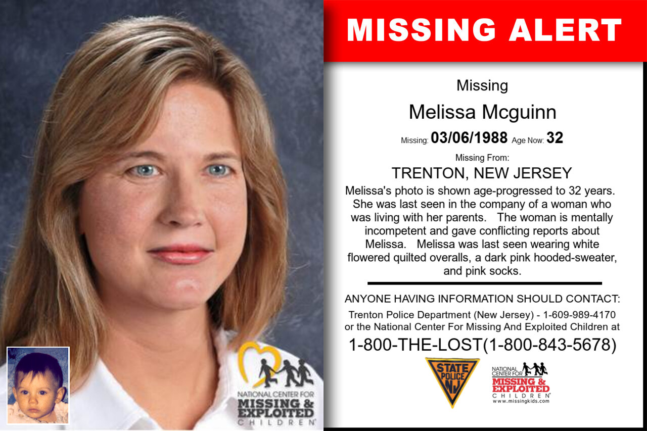 Melissa_Mcguinn missing in New_Jersey