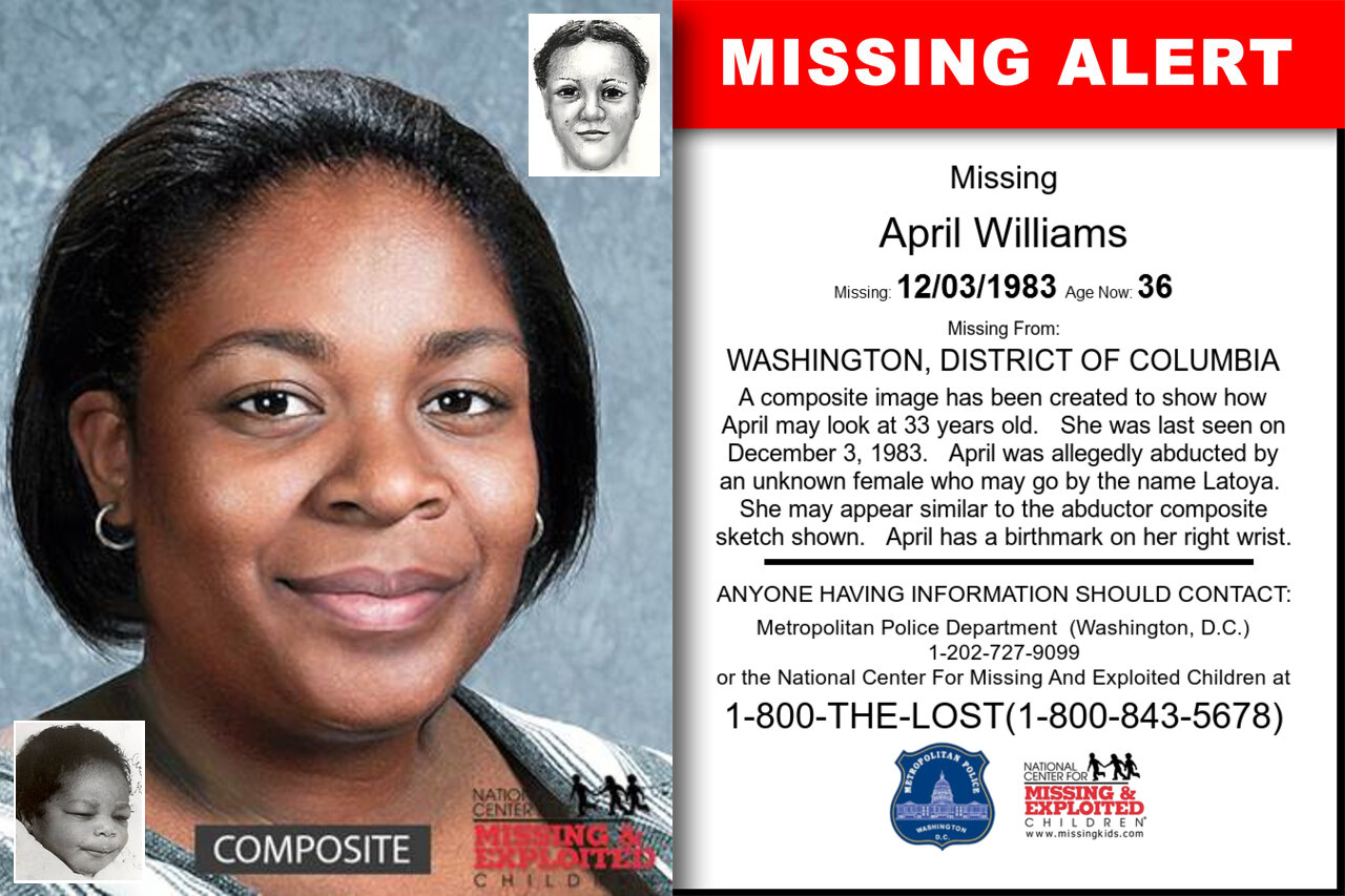 April_Williams missing in District_of_Columbia