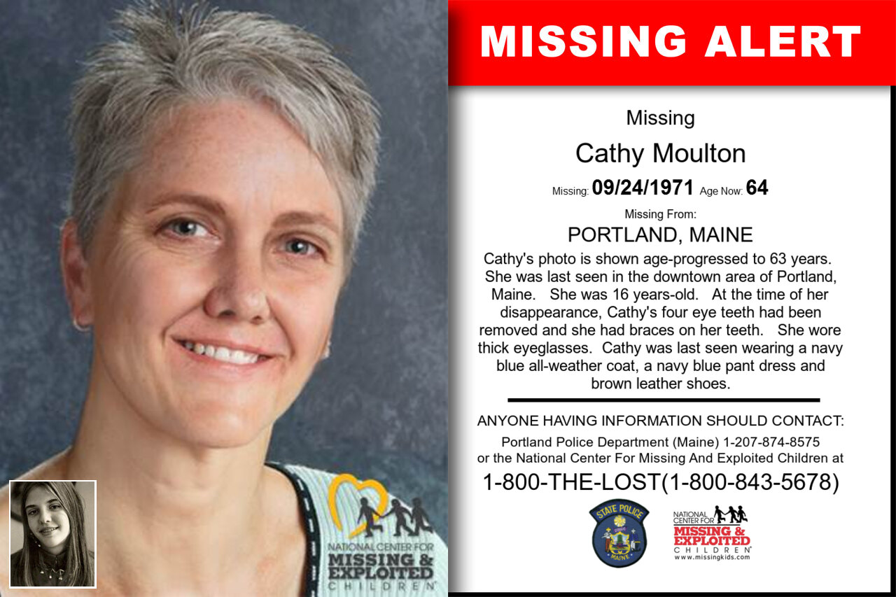 Cathy_Moulton missing in Maine