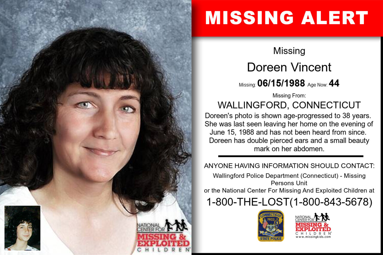 Doreen_Vincent missing in Connecticut
