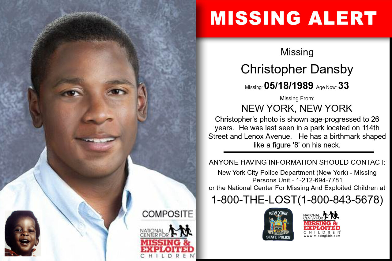CHRISTOPHER_DANSBY missing in New_York
