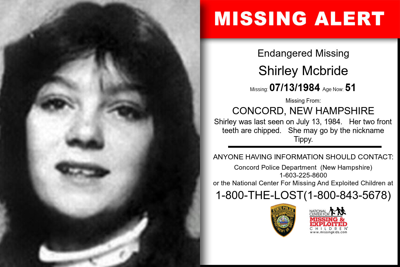 SHIRLEY_MCBRIDE missing in New_Hampshire