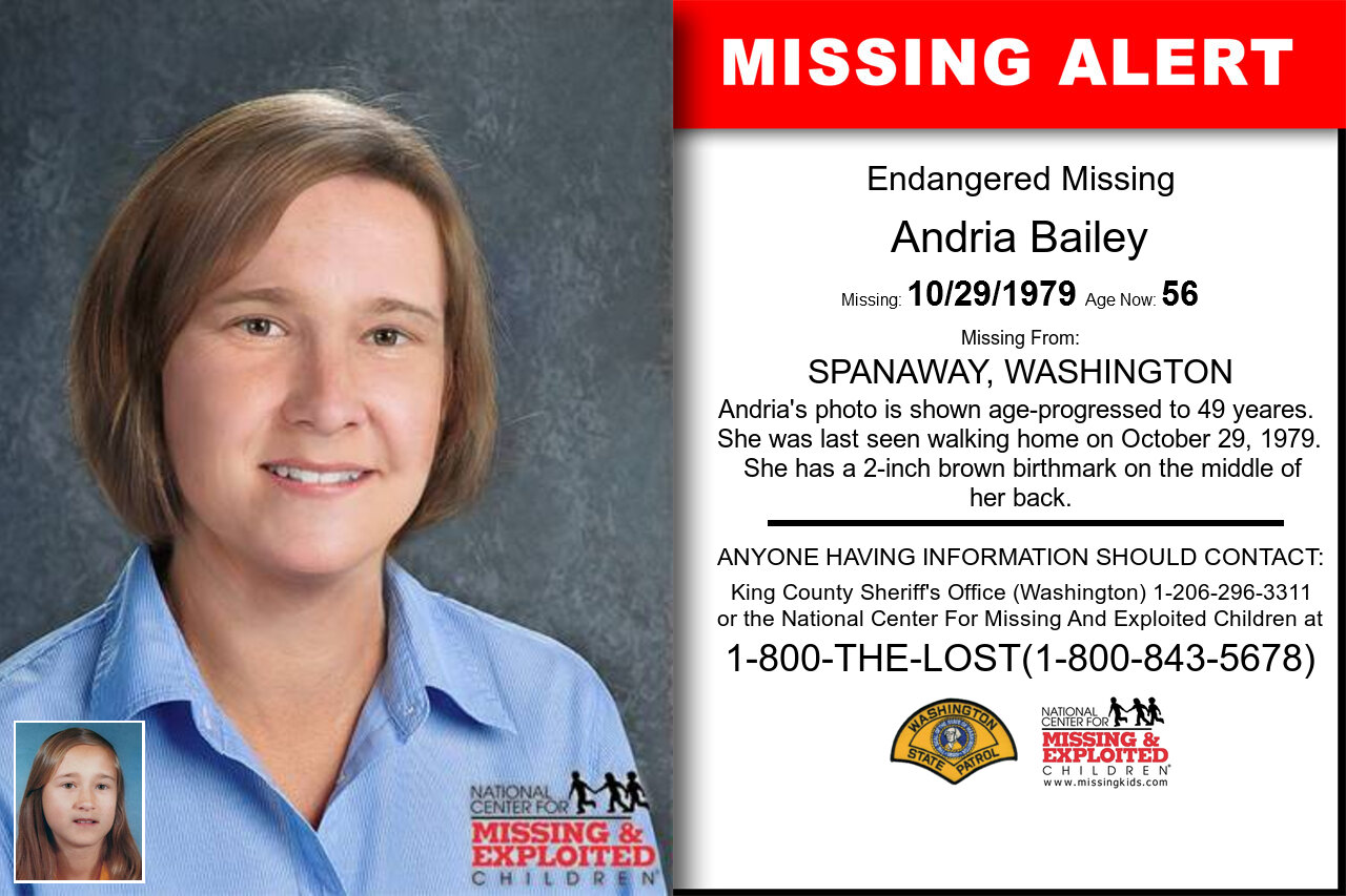 ANDRIA_BAILEY missing in Washington