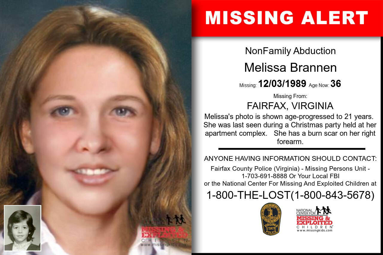 MELISSA_BRANNEN missing in Virginia