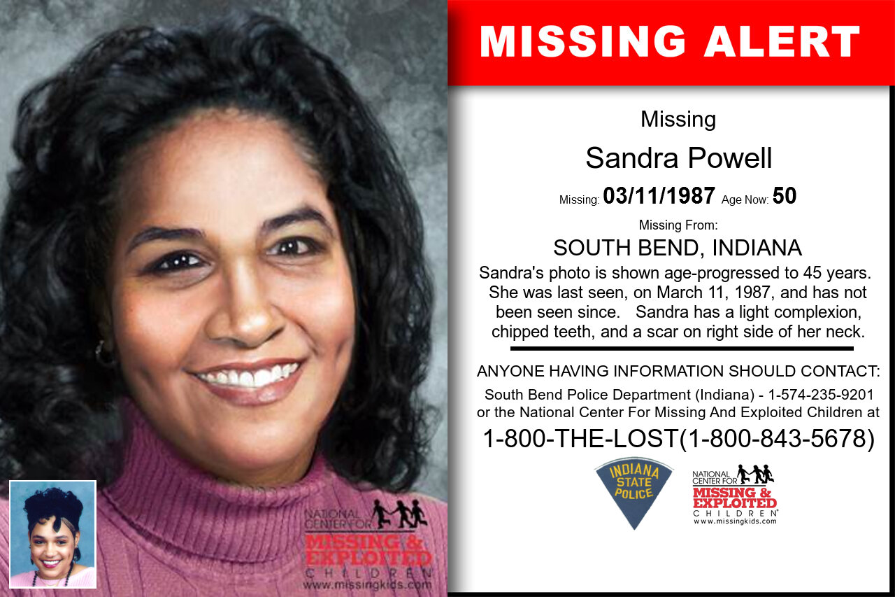 SANDRA_POWELL missing in Indiana