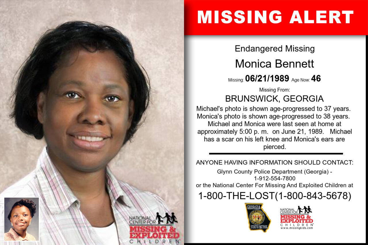 MONICA_BENNETT missing in Georgia