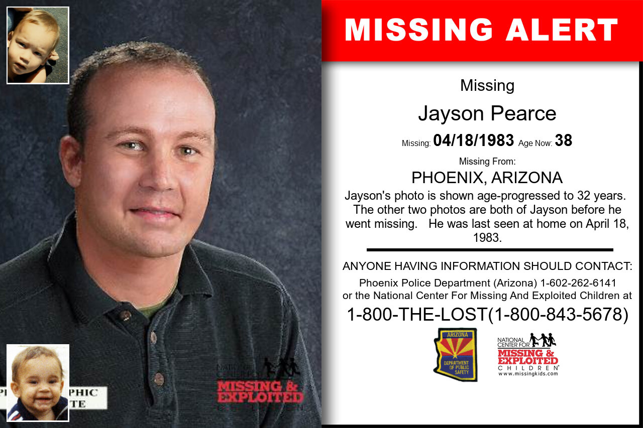 JAYSON_PEARCE missing in Arizona