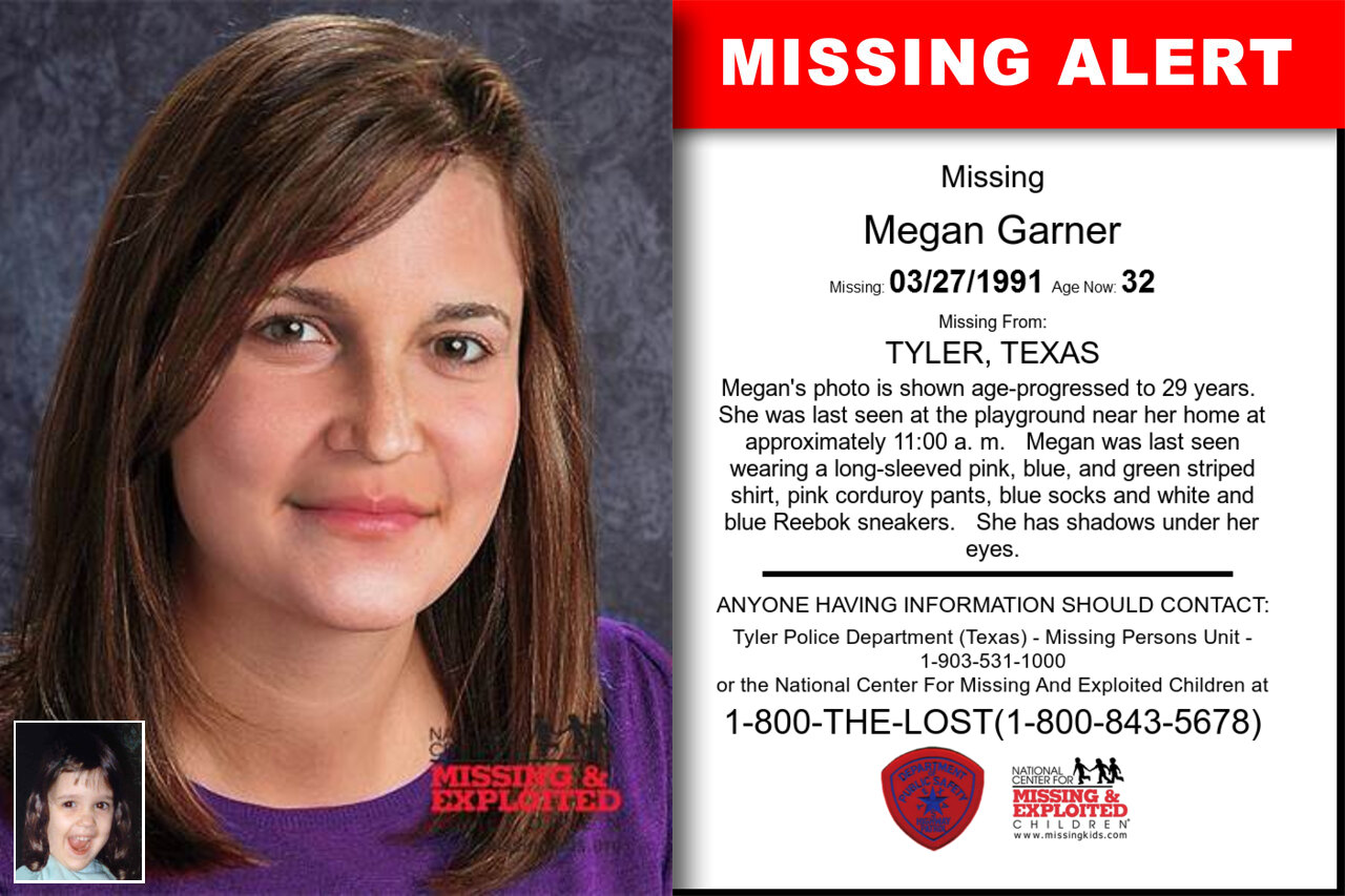MEGAN_GARNER missing in Texas