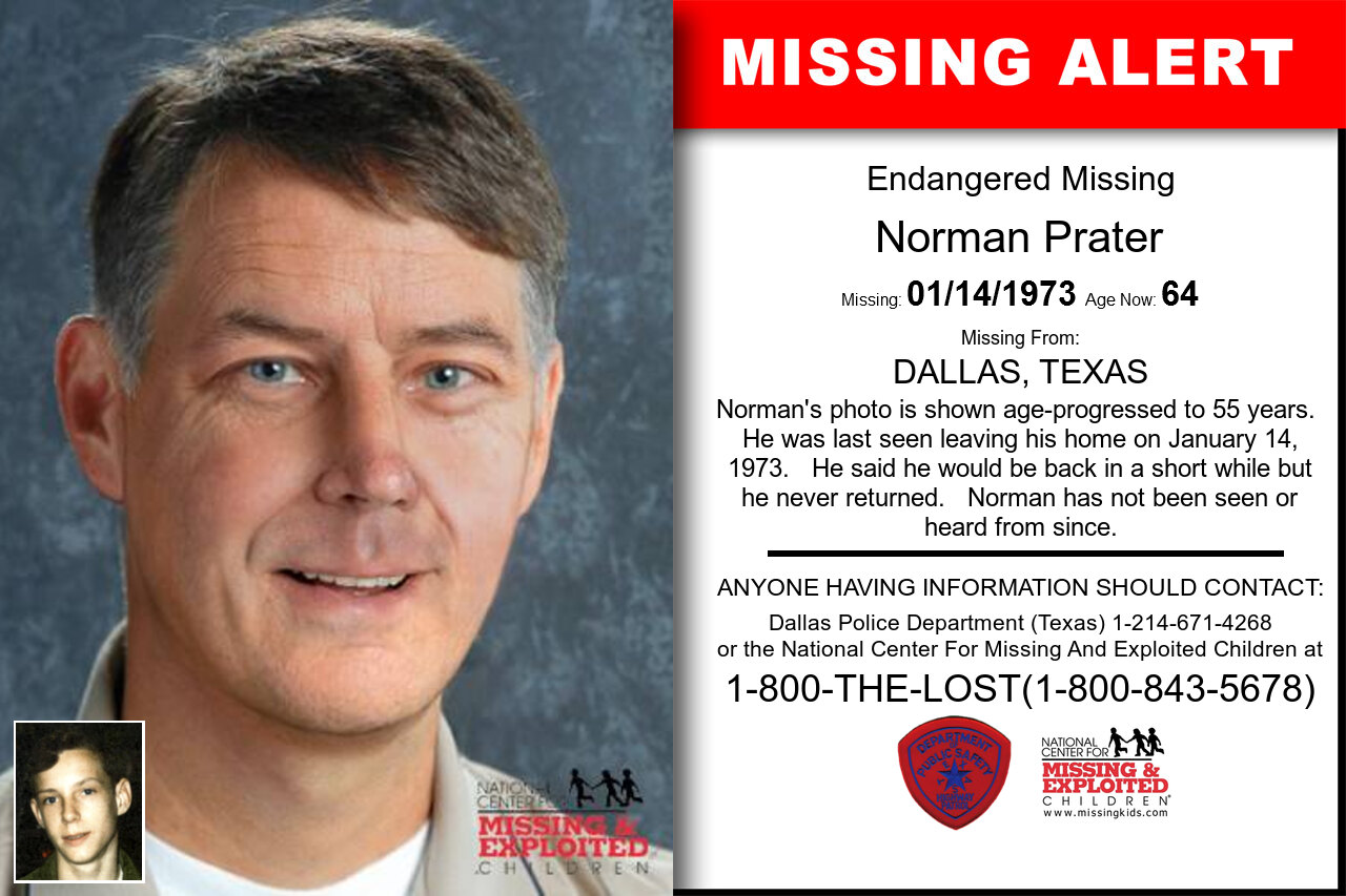 Norman_Prater missing in Texas