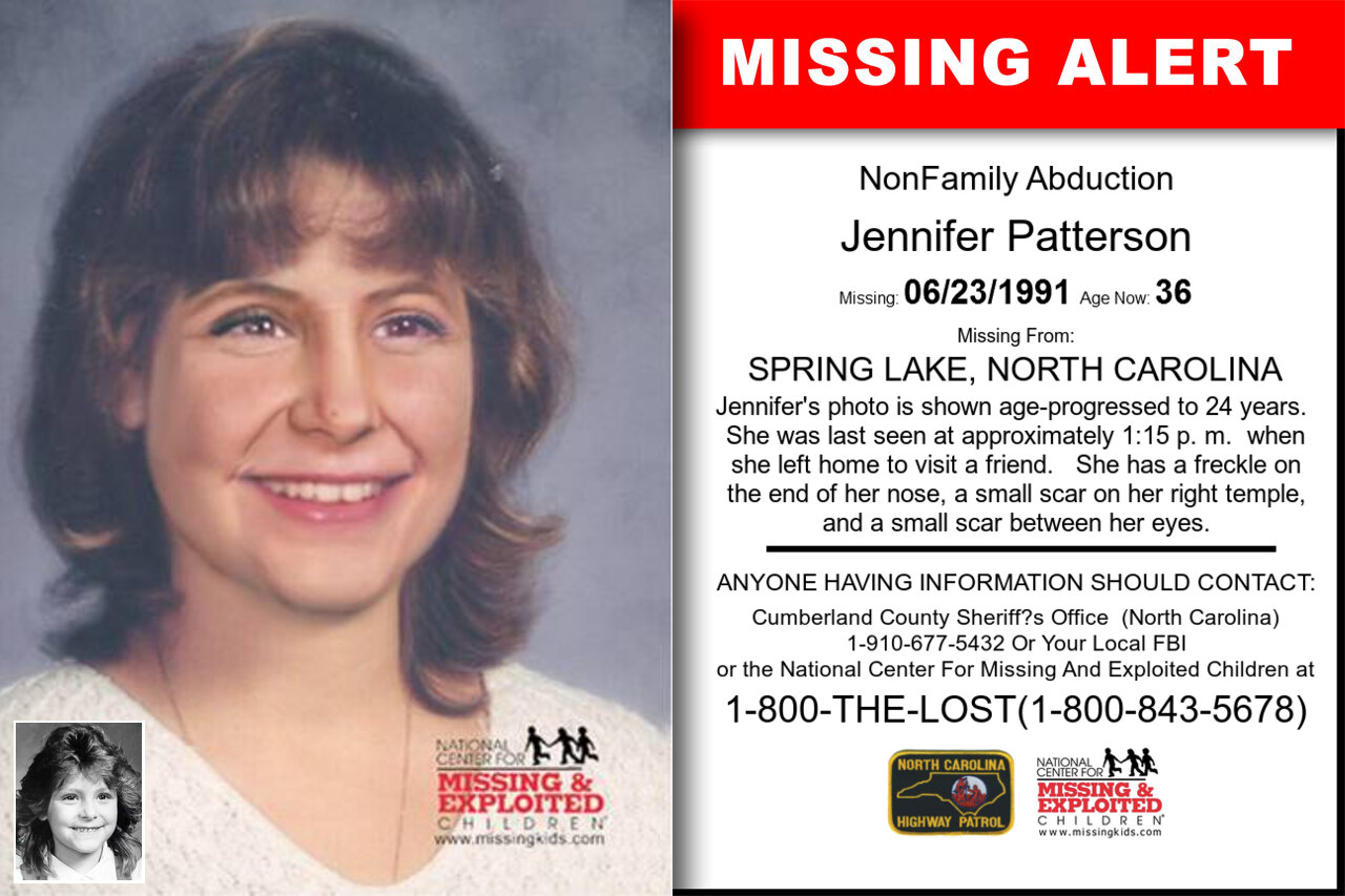 JENNIFER_PATTERSON missing in North_Carolina