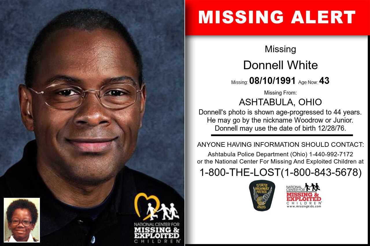 Donnell_White missing in Ohio
