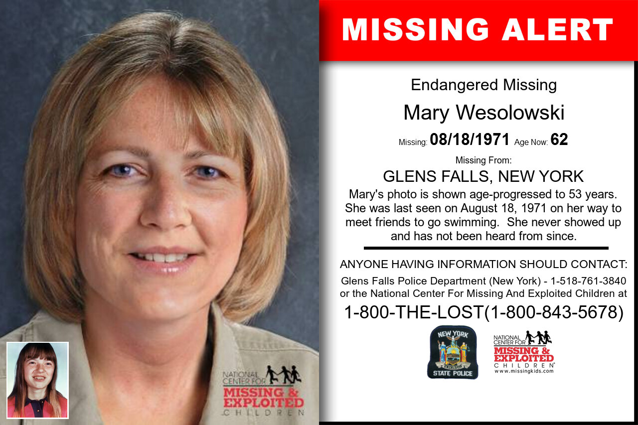 MARY_WESOLOWSKI missing in New_York