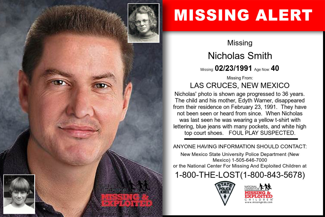 Nicholas_Smith missing in New_Mexico