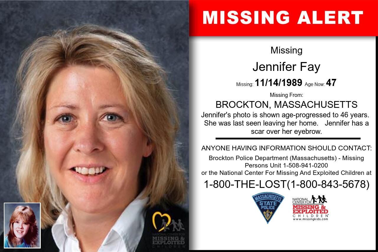 JENNIFER_FAY missing in Massachusetts