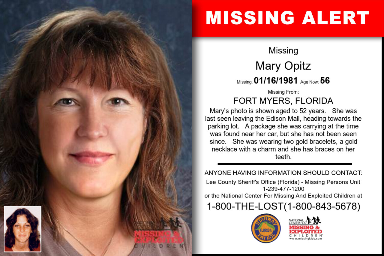 Mary_Opitz missing in Florida