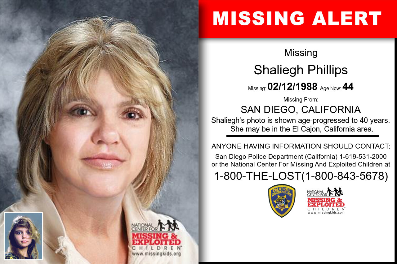 Shaliegh_Phillips missing in California