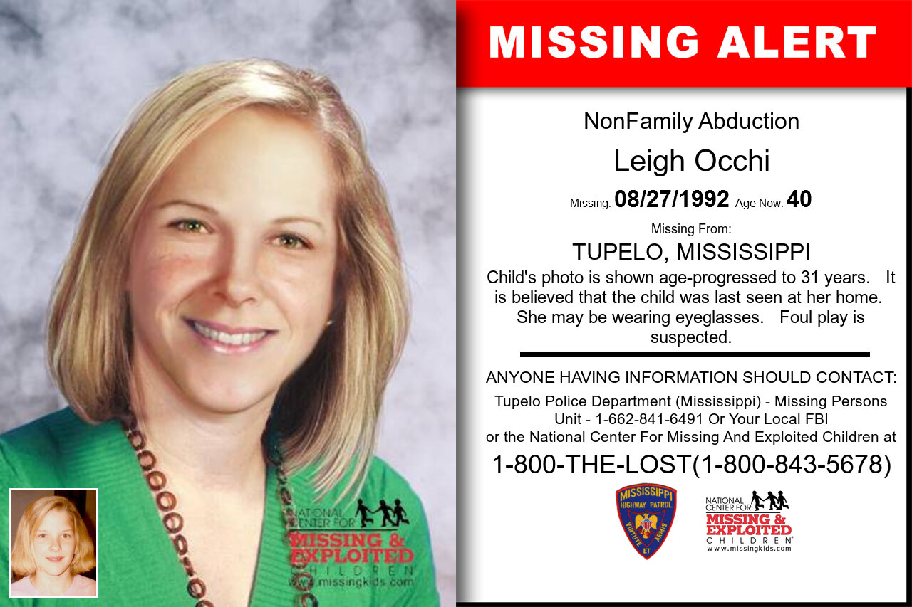 LEIGH_OCCHI missing in Mississippi