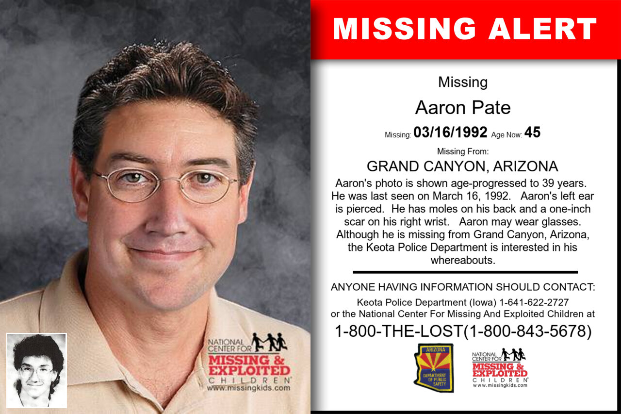 AARON_PATE missing in Arizona
