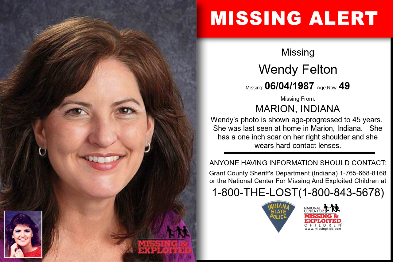 Wendy_Felton missing in Indiana