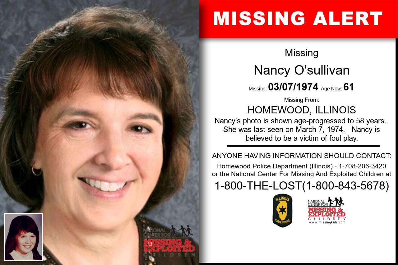NANCY_O'SULLIVAN missing in Illinois