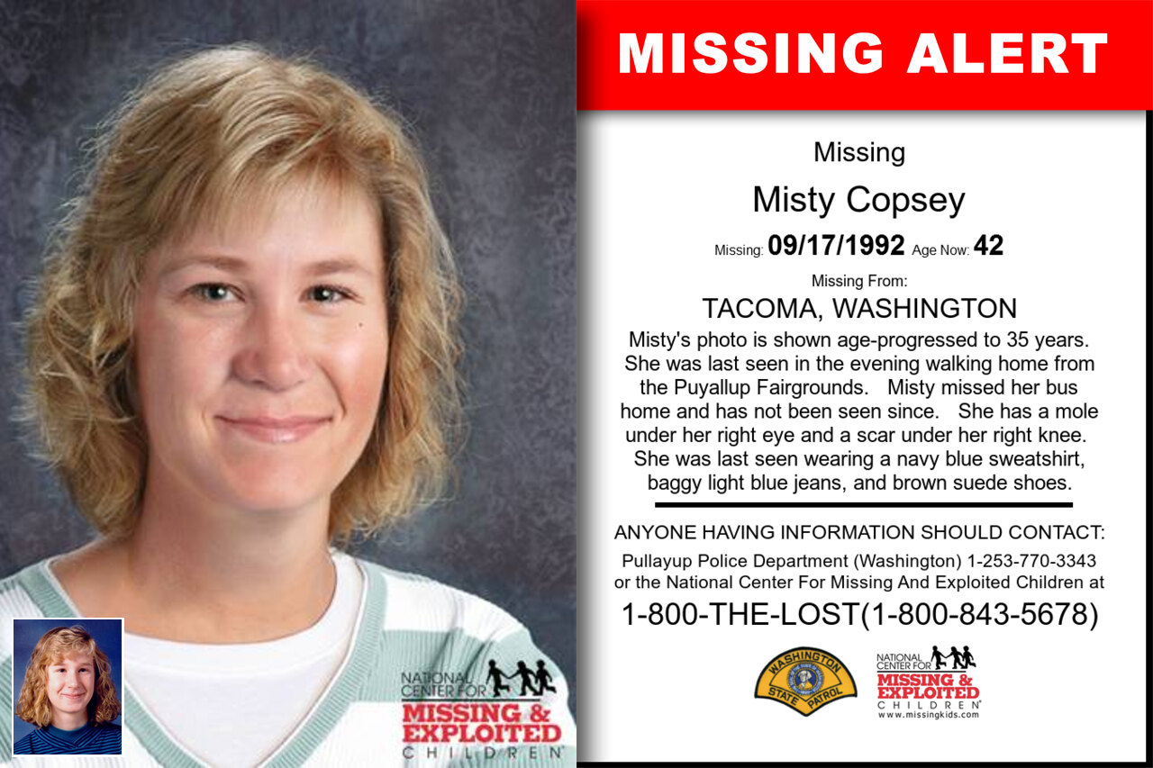 MISTY_COPSEY missing in Washington