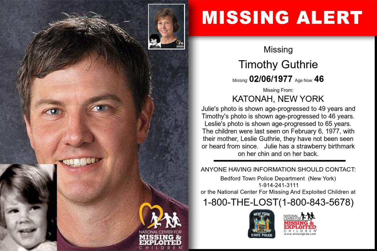 Timothy_Guthrie missing in New_York