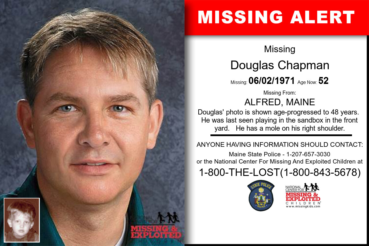 DOUGLAS_CHAPMAN missing in Maine