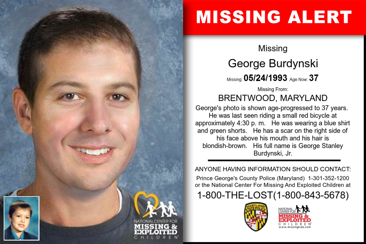GEORGE_BURDYNSKI missing in Maryland