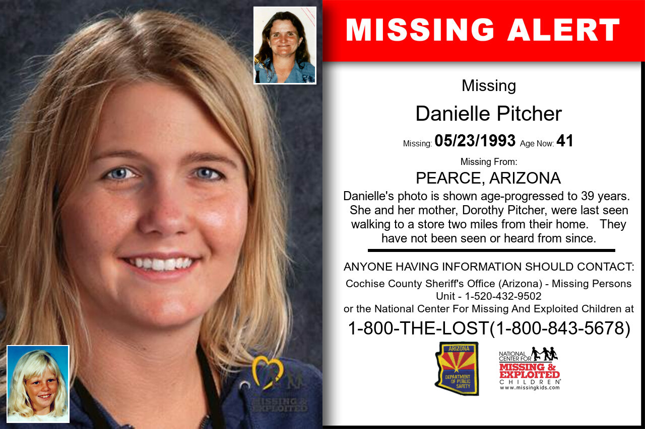 DANIELLE_PITCHER missing in Arizona