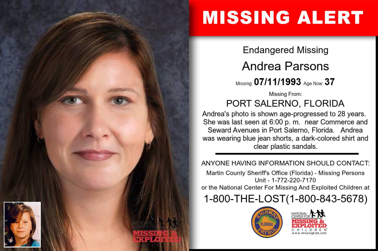 ANDREA_PARSONS missing in Florida