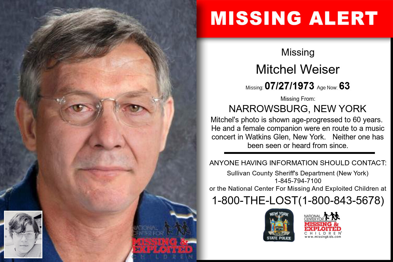 Mitchel_Weiser missing in New_York
