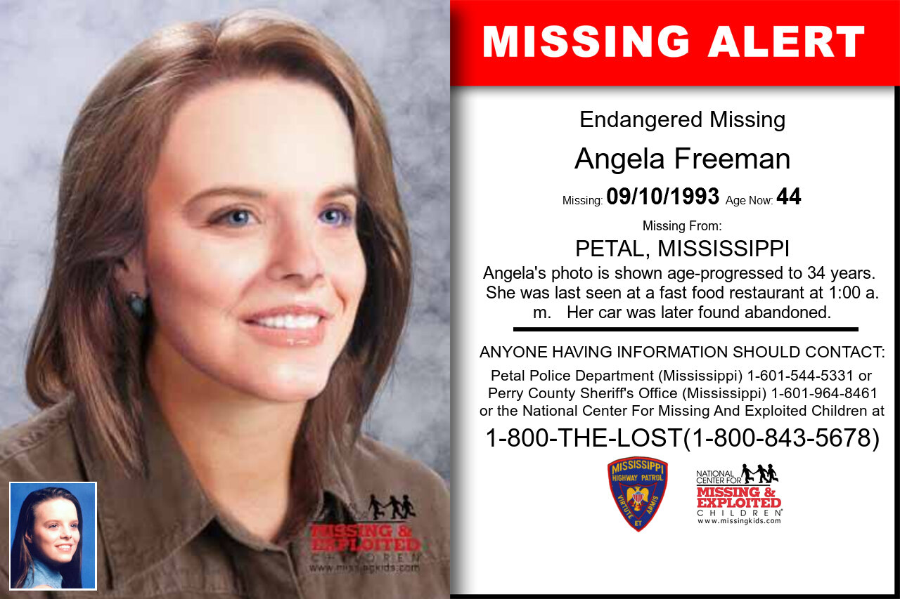 ANGELA_FREEMAN missing in Mississippi