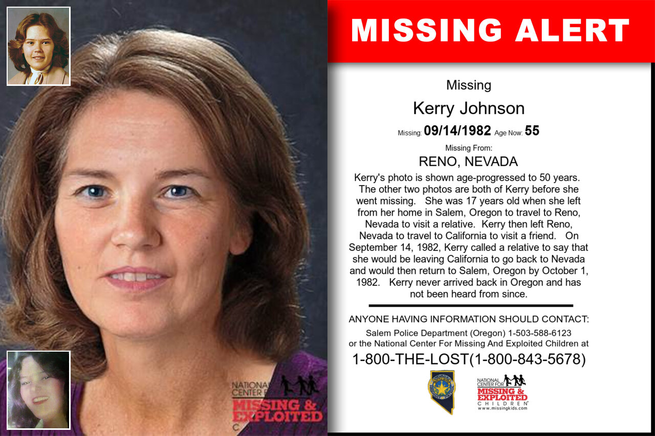 KERRY_JOHNSON missing in Nevada