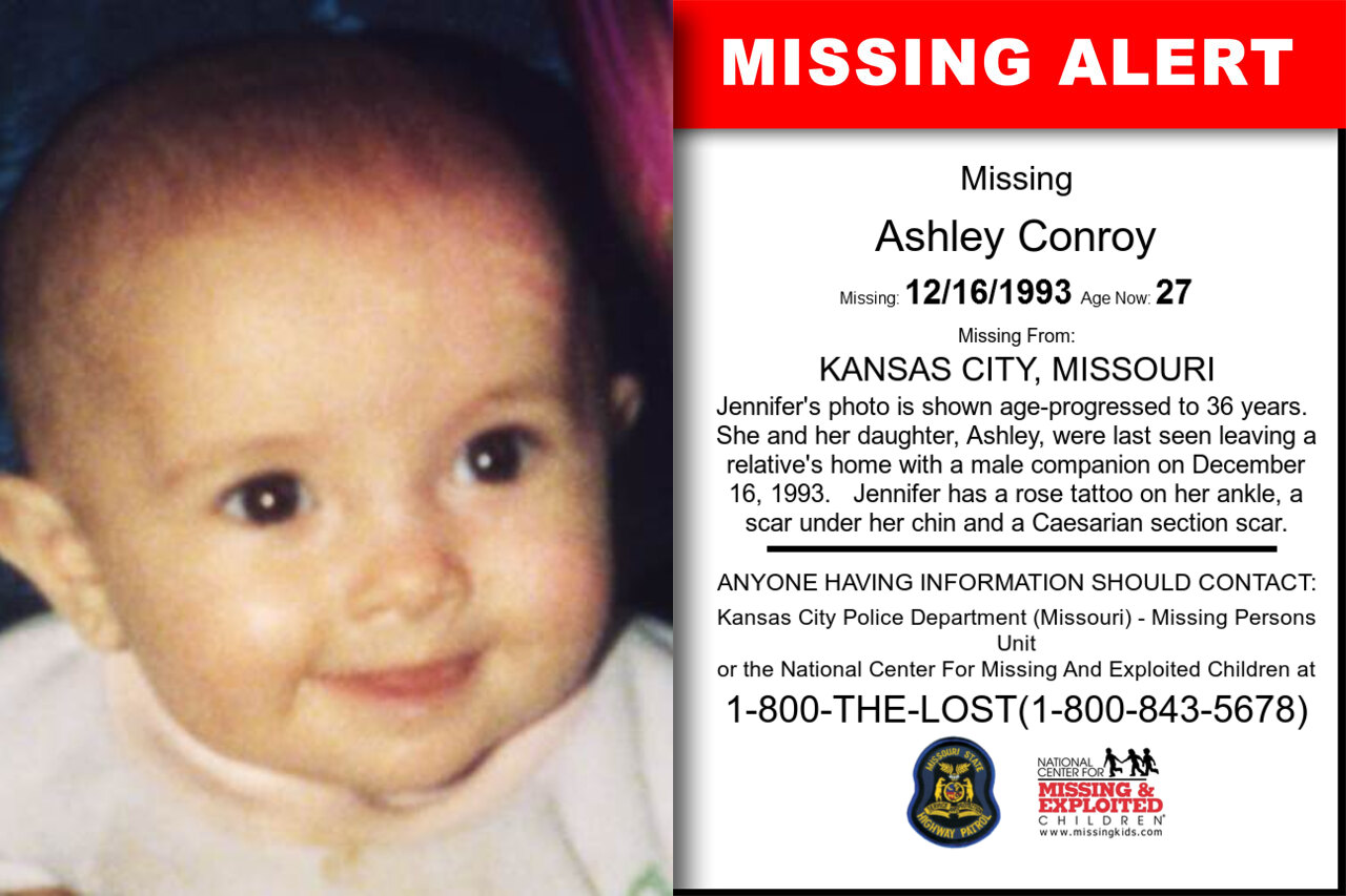 ASHLEY_CONROY missing in Missouri