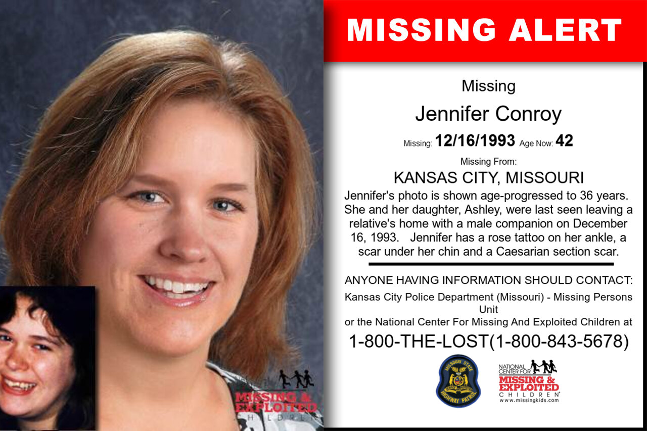 JENNIFER_CONROY missing in Missouri