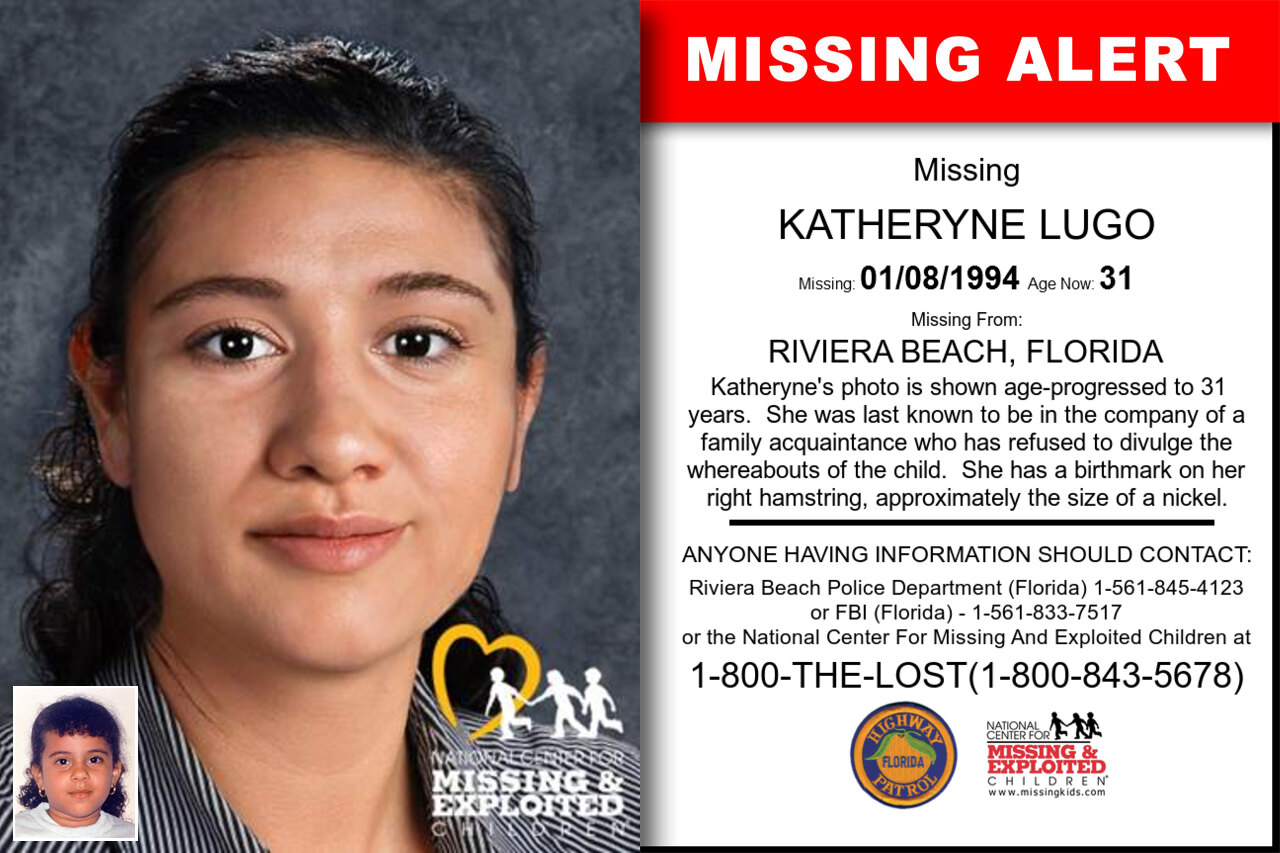 KATHERYNE_LUGO missing in Florida
