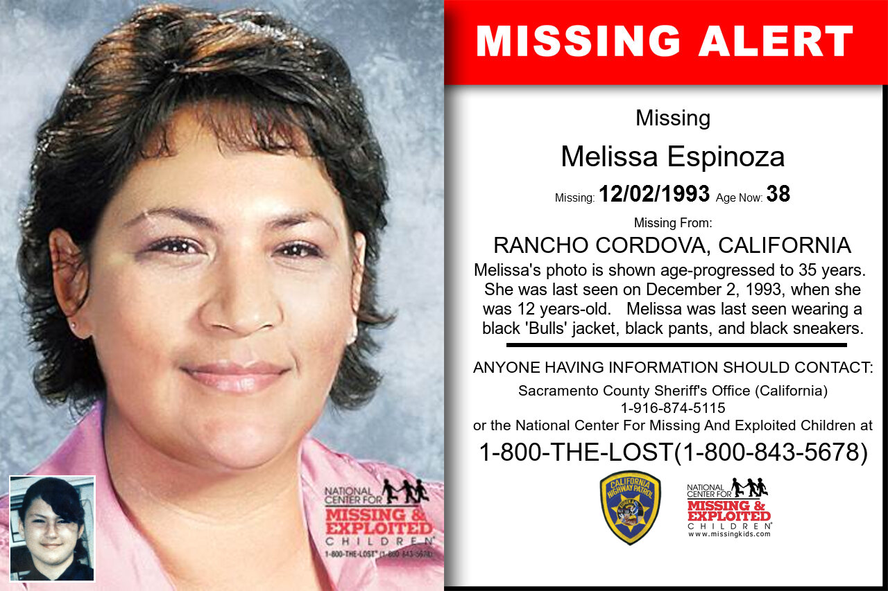 Melissa_Espinoza missing in California