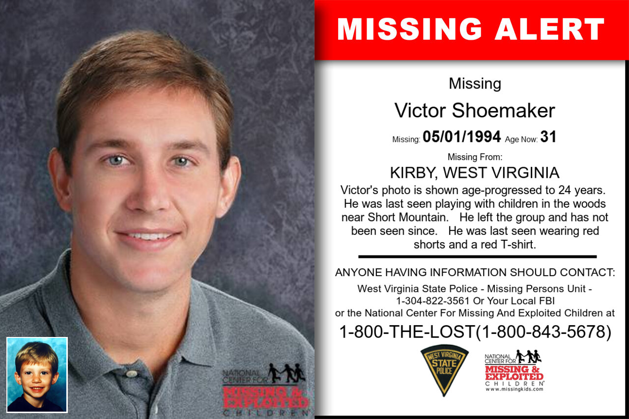 VICTOR_SHOEMAKER missing in West_Virginia