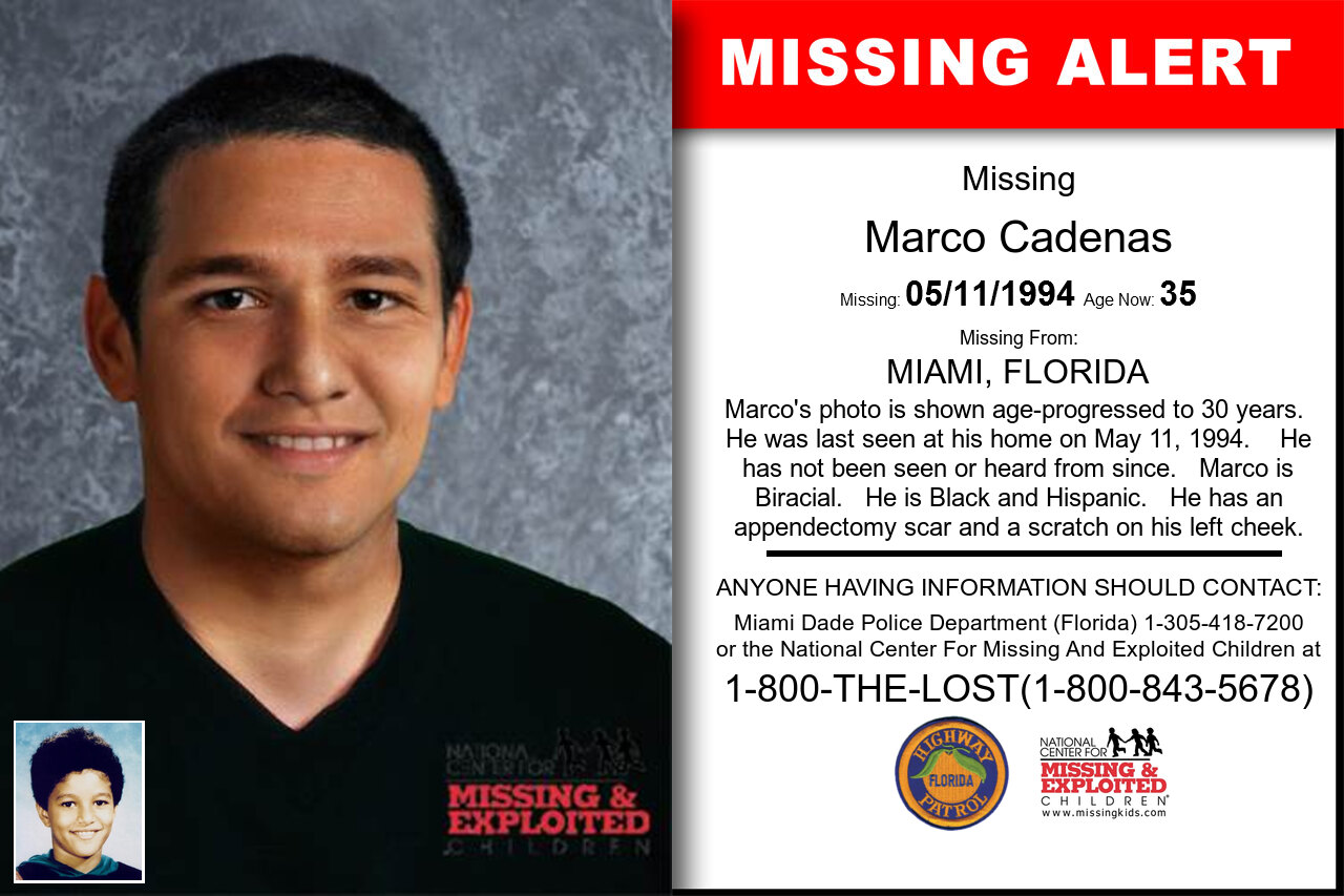 MARCO_CADENAS missing in Florida