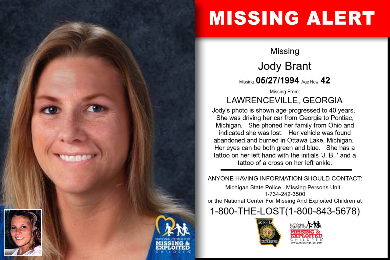 JODY_BRANT missing in Georgia