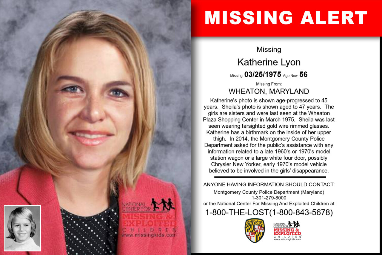 KATHERINE_LYON missing in Maryland