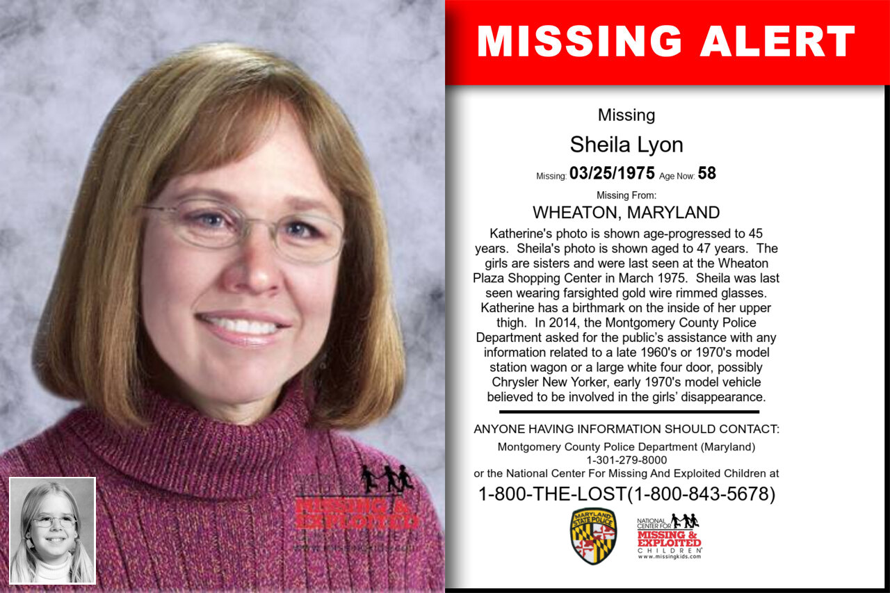 Sheila_Lyon missing in Maryland