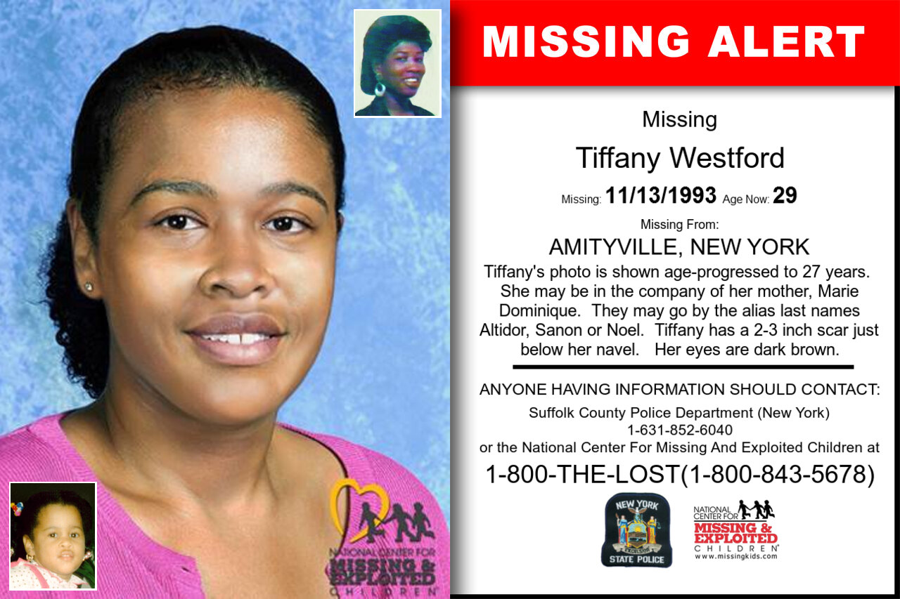 TIFFANY_WESTFORD missing in New_York