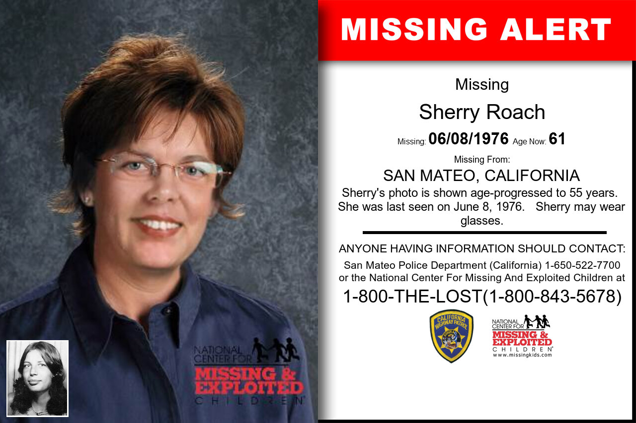 SHERRY_ROACH missing in California