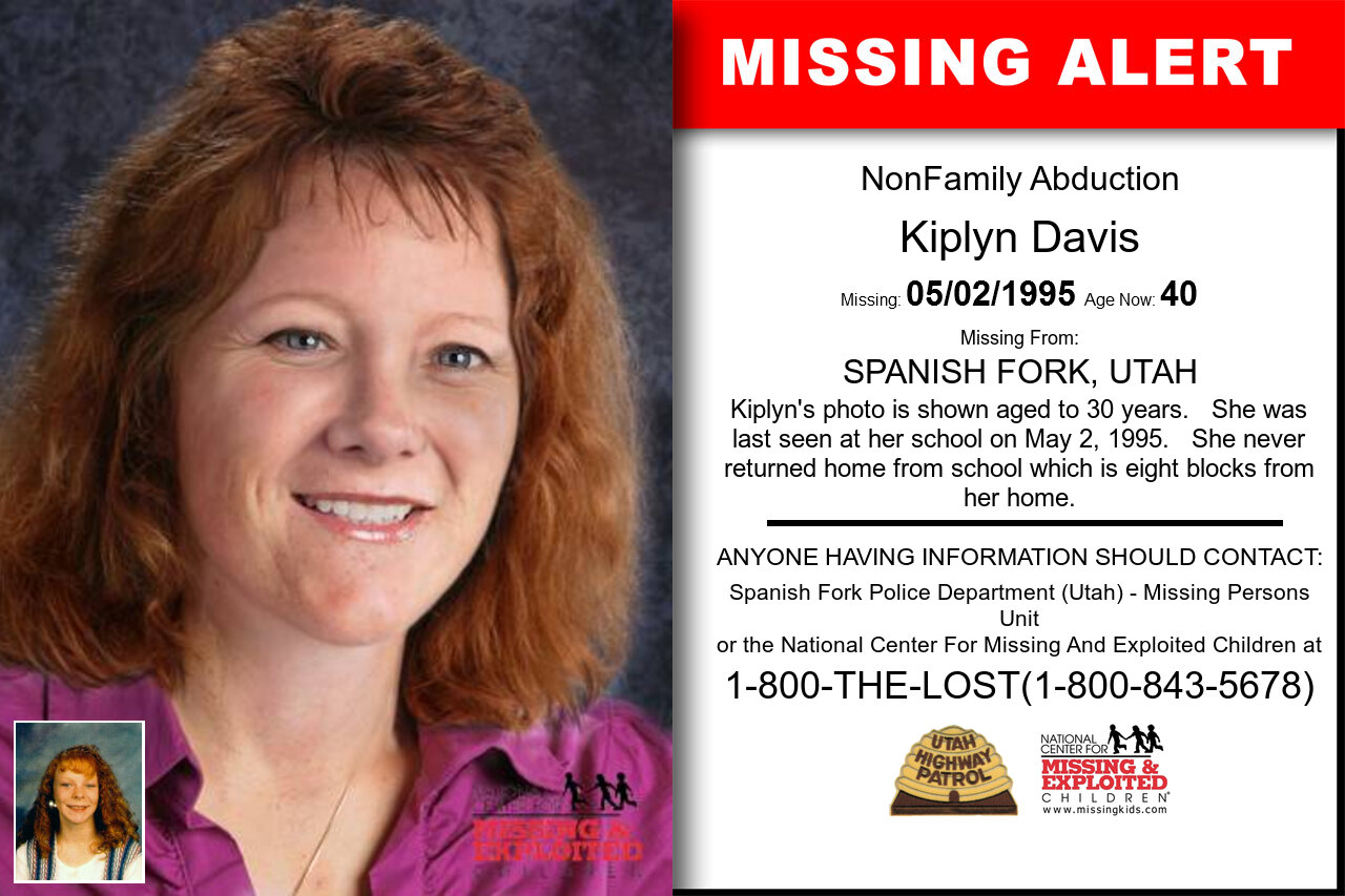 KIPLYN_DAVIS missing in Utah