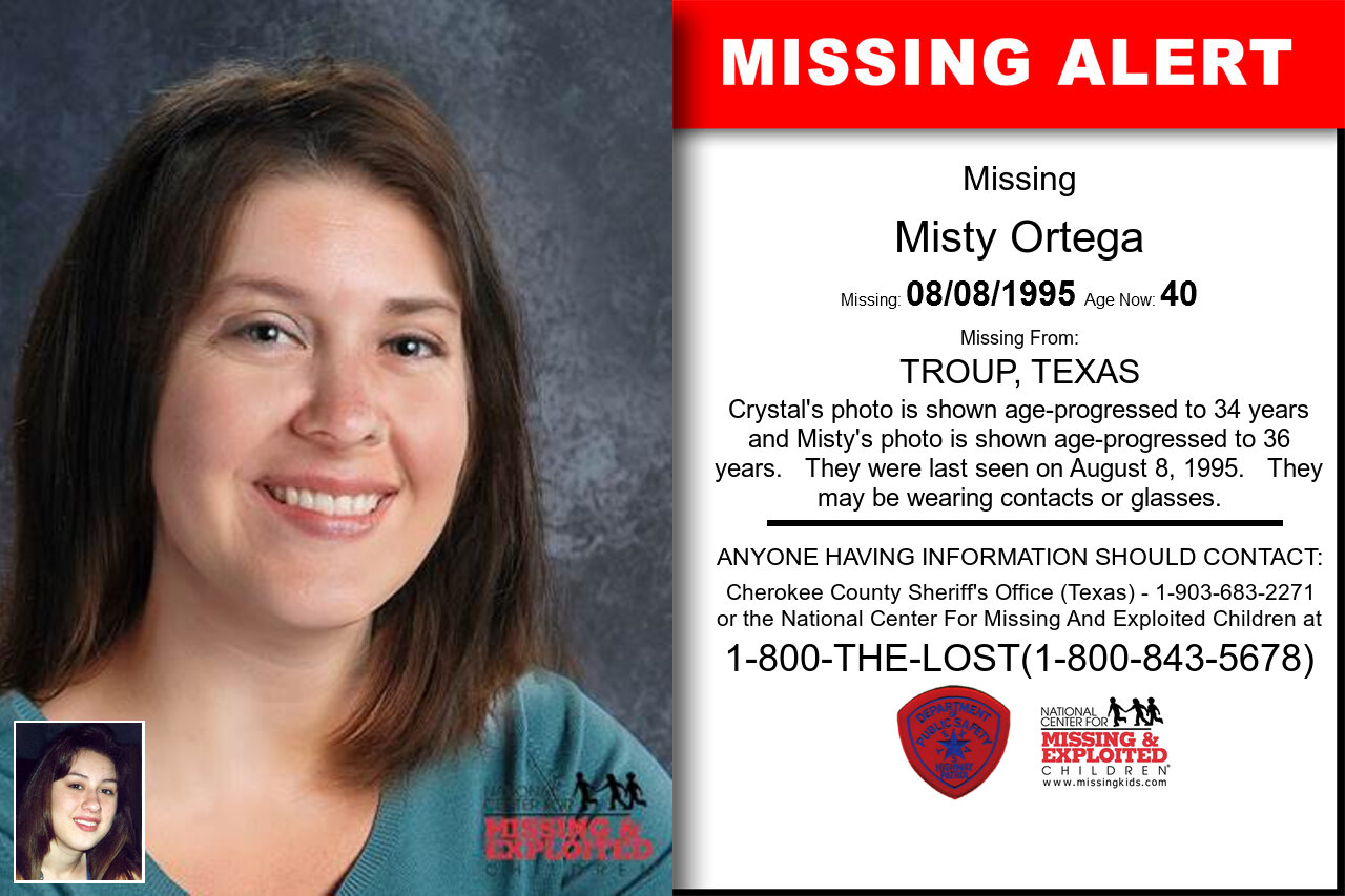Misty_Ortega missing in Texas
