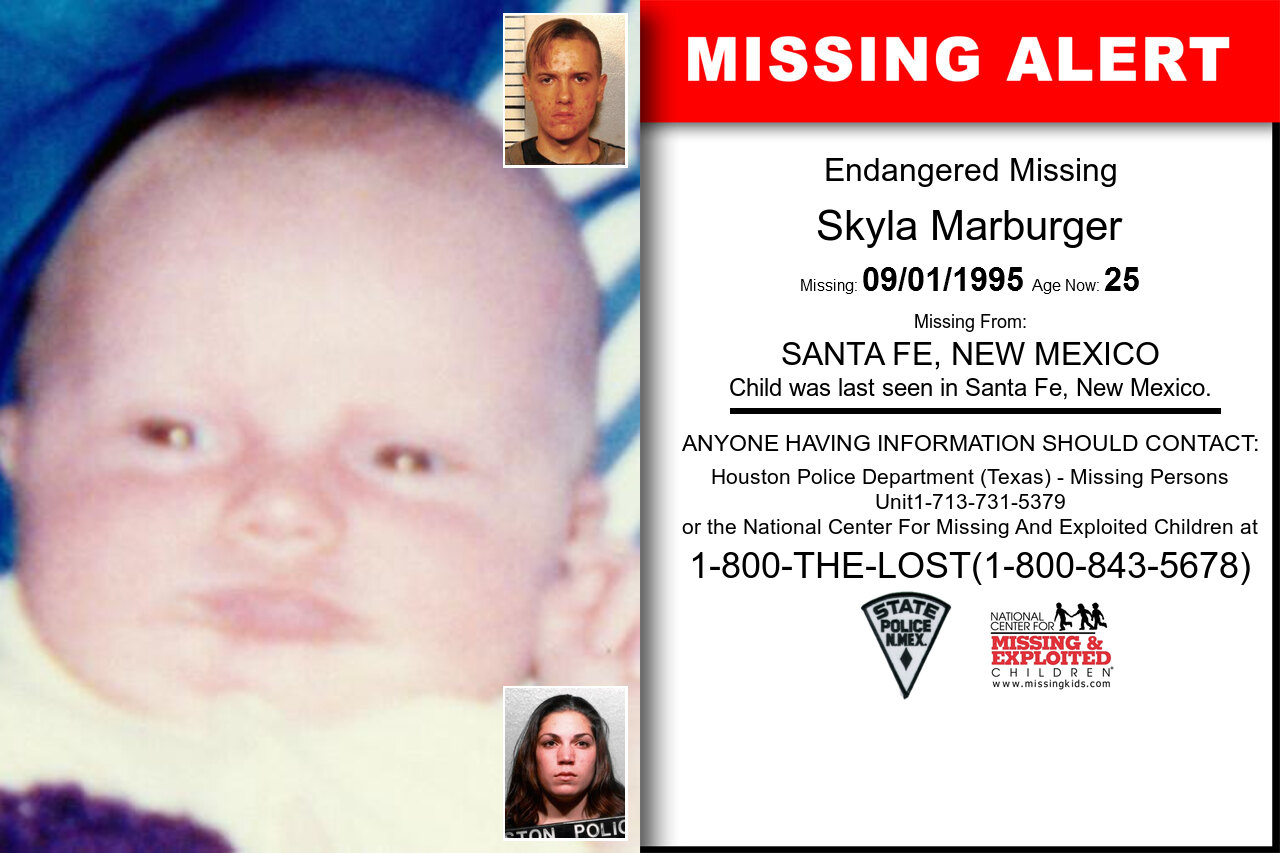 Skyla_Marburger missing in New_Mexico