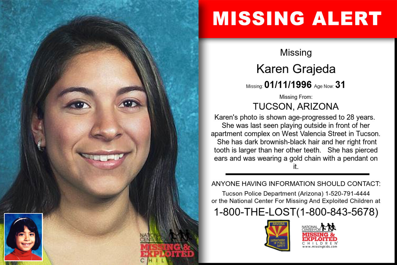 Karen_Grajeda missing in Arizona