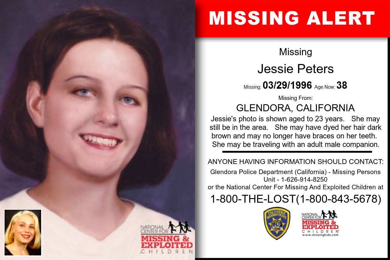 Jessie_Peters missing in California